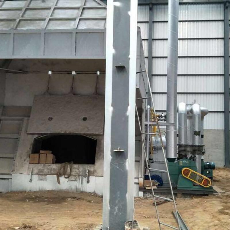 天然气化铝炉