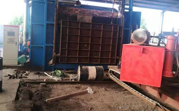 在建中的室式锻造炉